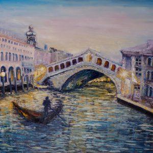 Венеция.Вечер.